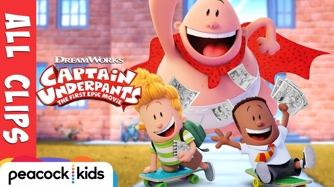 Video trailer för Captain Underpants ALL CLIPS Official | CAPTAIN UNDERPANTS: THE FIRST EPIC MOVIE