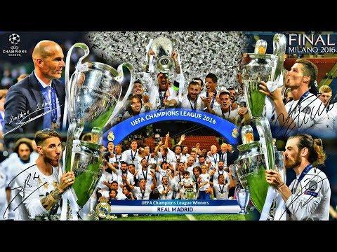 Most UEFA Champions League Title Winners 🢂 II 1956🢀 🢂2017 II