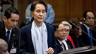 video: Aung San Suu Kyi denies military acted with 'genocidal intent' against Rohingya