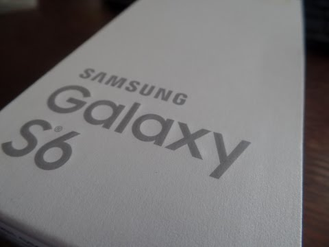64GB Samsung Galaxy S6 Gold Platinum (UNBOXING)