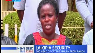 Laikipia leaders applaud operations to recover 600 heads of cattle stolen from a ranch