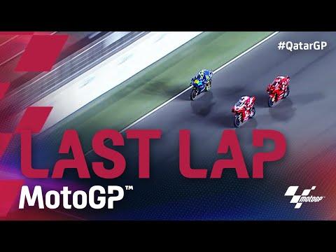 MotoGP 2021 第1戦カタールGP 決勝レースのラストラップのレース動画