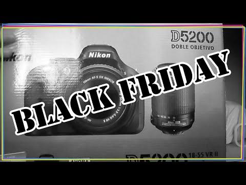 UNBOXING NIKON D5200 - BLACK FRIDAY | LOVELYLOVE