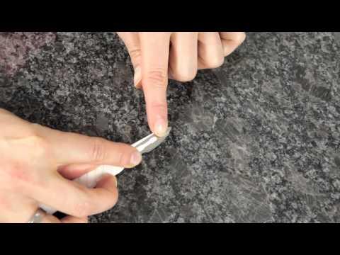 picobello // Reparatur-Set Naturstein Kunststein - DIY reparieren Chips Löcher Stoßschäden