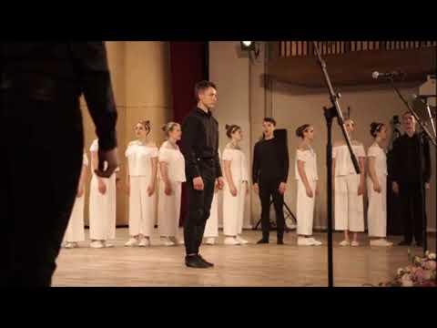 «Της Τρίχας το Γεφύρι» από την χορωδία της Μουσικής Ακαδημίας (Γνέσιν) Μόσχας .