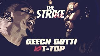 T-TOP VS GEECHI GOTTI SMACK RAP BATTLE | URLTV