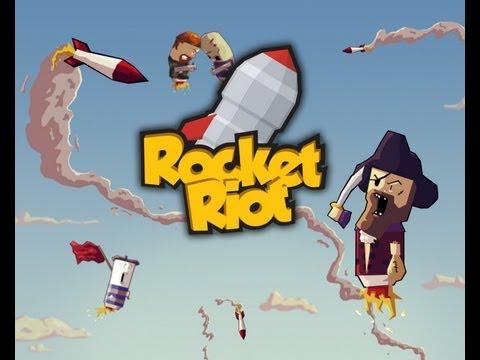 Rocket Riot - iPad 2 - HD Gameplay Trailer thumbnail