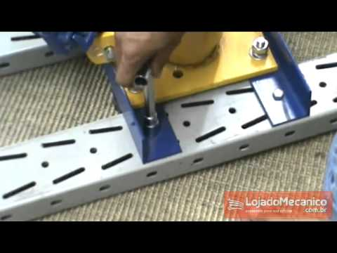 Chave Biela tipo L com Boca Vazada 15 mm - Video
