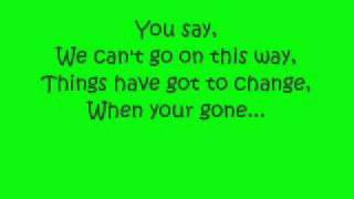 Chase and Status- Let you go lyrics
