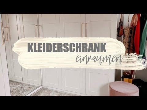 NEUEN KLEIDERSCHRANK EINRÄUMEN 🤗 Kleiderschrank Tour