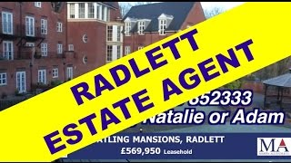 preview picture of video 'Radlett Estate Agent | 3 bed Flat | Watling Mansions Radlett | Call 01923 852333'