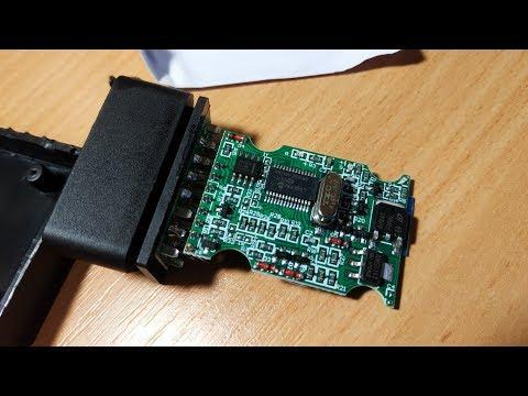 ELM327 V1.5 Bluetooth  PIC18F25K80 чип