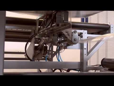 Horizontal Orbital Semi Automatic Pallet Stretch Wrapping Machine
