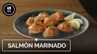 La receta de salmón marinado más fácil