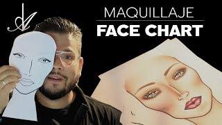 Maquillaje De Face Chart   Alberto Dugarte