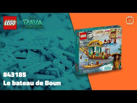 Vidéo LEGO Disney 43185 : Le bateau de Boun