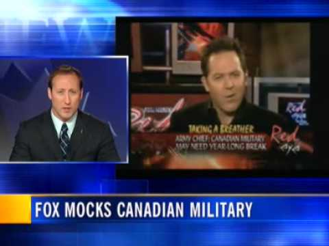 Canadian Outrage at Fox News Is Growing
