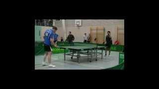 preview picture of video 'Tischtennis-Aufstiegsspiel: [ Erdweg gegen Starnberg ] Spiel 7'