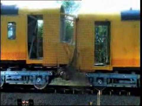 Test wypadkowy pociągu