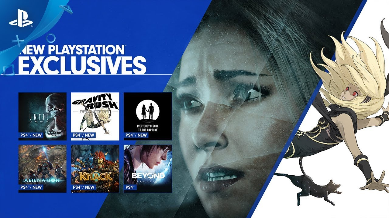 Stream Until Dawn and Gravity Rush Remastered with PS Now