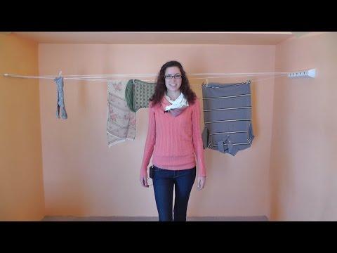 Leifheit Rollfix Retractable Drying Rack