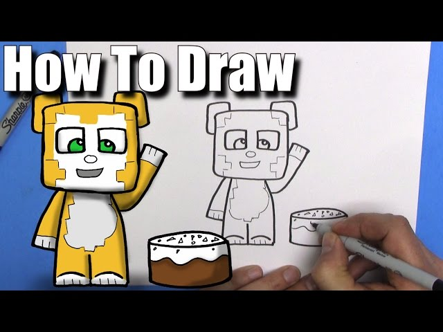 How to draw stampylongnose how to draw rob from art for kids hub how to draw stampy longhead altavistaventures Image collections