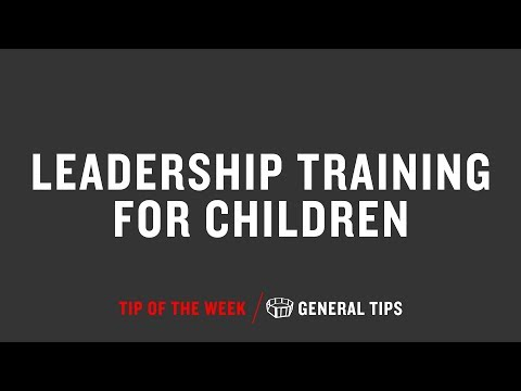 Leadership Training For Children