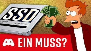 Lohnt sich eine SSD für PS4, XB1 & PC?
