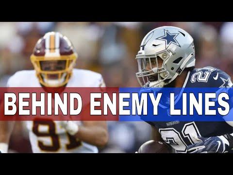 Redskins Nightly News Behind Enemy Lines With Law Nation    Redskins vs Cowboys 2019 Week 2