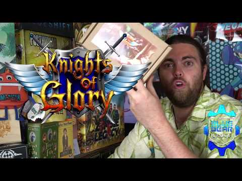 Knights of Glory - Kickstarter - Board Game Review