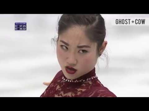 2018 FART WINTER OLYMPICS - Mirai Nagasu farts into history with Olympic triple Assel