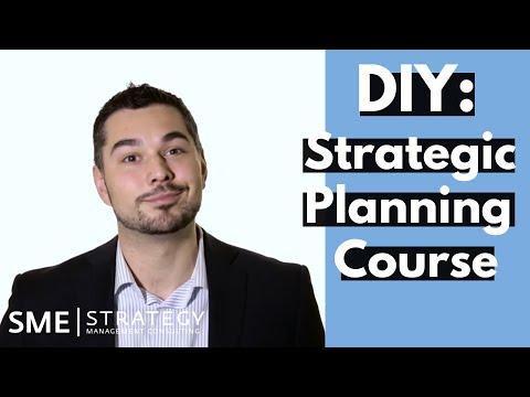 DIY - Strategic Planning Course - YouTube