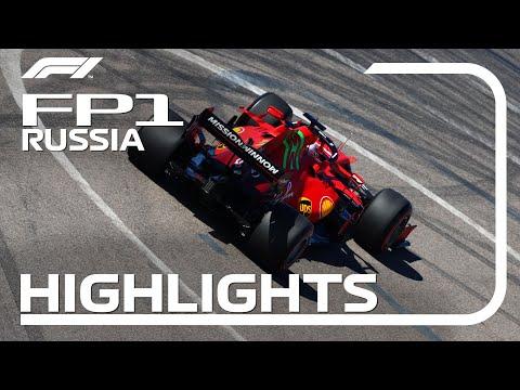 F1 第15戦ロシアGP(ソチ)FP1のハイライト動画