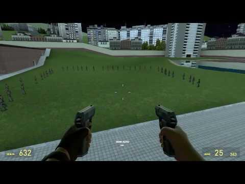 Обзоры Модов Garry's Mod 13.#32.Настраиваемое оружие из Team Fortress 2!Часть 1 видео