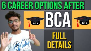 career options after bca | what to do after bca | career opportunities