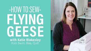 How To Sew Flying Geese