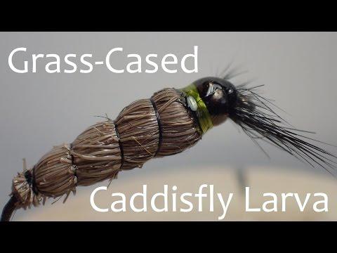 Grass-Cased Caddis Larva Fly