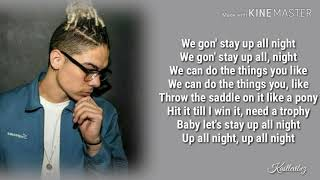 William Singe   Up All Night (Lyrics)