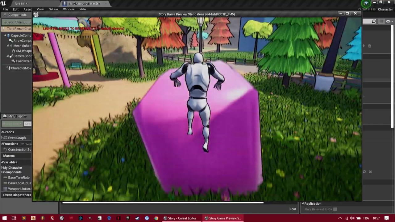 Comment faire un double saut dans son jeu vidéo (Mini tuto fr Unreal Engine 4)