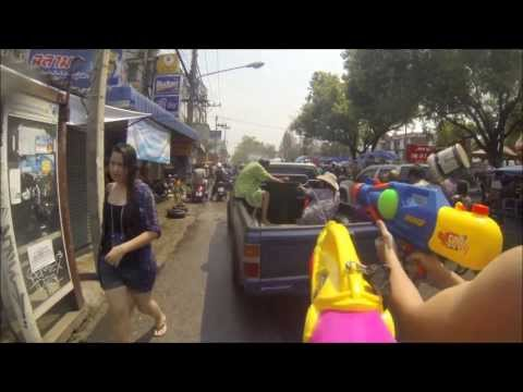 Thailand travel (Koh Tao Master Divers, Patara Elephant Farm, Songkran)