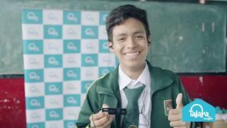 Escolares ganadores de Celebrando al Perú