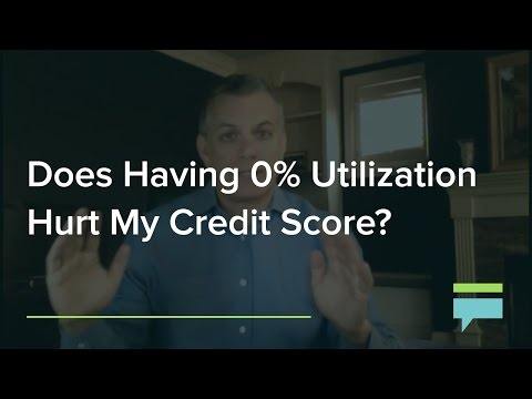 Does Having a 0% Credit Utilization Hurt My Credit Score? - Credit Card Insider