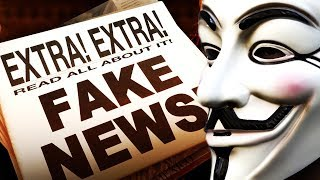 Anonymous - Shocking Evidence that they Don't Want You To Know! (FAKE NEWS EXPOSED)