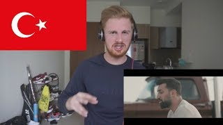 Burak King - Koştum Hekime (Official Video) // TURKISH MUSIC REACTION