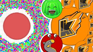WORLDS BIGGEST AGAR.IO TEAM! (Agario #14)