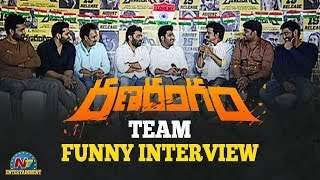 Ranarangam Team Funny Interview | Independence Day Special | Sharwanand | NTV Entertainment