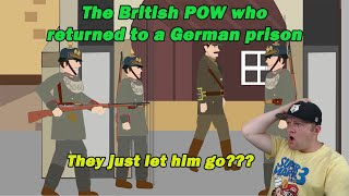 The British POW who returned to a German prison | Simple History| A History Teacher Reacts