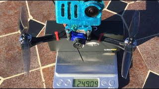 "Sub 250g - 17 Minute 4"" Naked GoPro Flight 'Scorpion V3' ????????"
