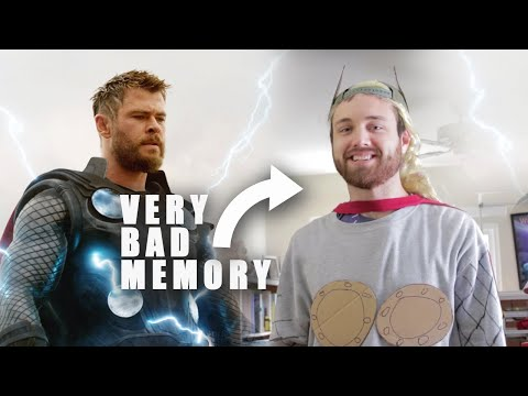Making a Thor Costume from Memory