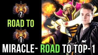Faster. Better. Stronger. Miracle on his Road to TOP 1 MMR - Dota 2